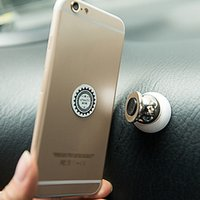 Wholesale Best Selling Luxurious Handsfree Rotating Car Mount Mount Holder Metal Disc Mount Phone For iPhone GPS EA1473
