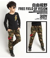 other baby skinny jeans for boys - New Teens Jeans For Boy Camouflage Baby Boys Jeans Pants Designer Kids Jean Children s Elastic Waist Denim Long Pant