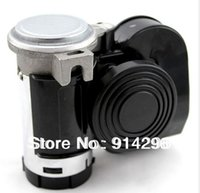 Wholesale V air horn siren speaker comes with air pump Super loud car horn whistle snail horn for Truck Motorcycle