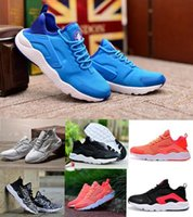 Wholesale 2016 Aires Huarache Running Shoes Sport Men Women Lights White Chaussure Femme Homme Huaraches Run III Low Running Trainer Sneakers