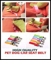 Wholesale aaa hot color Adjustable pet dog car seat belt pet safety LEADS Leash Clip