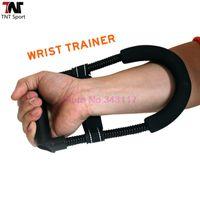 Wholesale Gym Sport Power Wrist Exerciser Black Arm Exercise Equipment Wrist Force Home Fitness Body Building Power Wrist L59