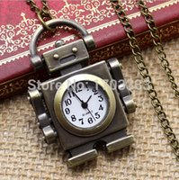 ancient robots - 100pcs bronze robot necklace supe gift watches The feelings restoring ancient ways