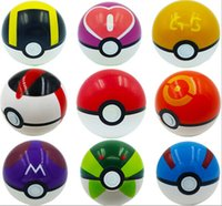 Wholesale Cosplay New Pokeball Master Great GS Ball Playset action figures Pop up Plastic Pokel Ball Game Toy for kid Monster Pikachu Set