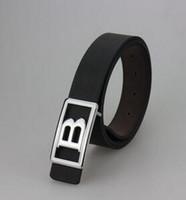 ceintures grossistes New Mode Hommes d'affaires Ceintures de luxe bijoux de ceinture grande boucle véritables ceintures en cuir pour hommes Ceinture