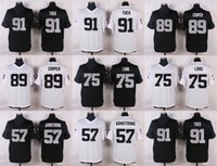 armstrong blue - 2016 Elite Men Jerseys Amari Cooper Tuck Long Armstrong Stitched Jersey Free Drop Shipping