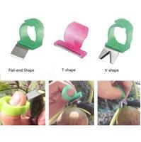 Wholesale Adjustable Vegetable Fruit Picker Picking Ring Gardening Stainless Steel Harvesting Cut Tool Good Helper
