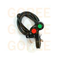 al por mayor interruptor de luz atv-Interruptores Interruptor universal de la motocicleta Vespa Offroad ATV Interruptores para trompa señal de vuelta de encendido / apagado Luz