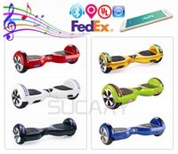 Wholesale New Arrivals Electric Scooter RGB Led Hoverboard Bluetooth Smart Balance Wheel Inch Electric Skateboard Speaker Electric Scooters UL2272