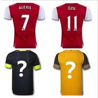 arsenal t shirt - 3A Top thai quality adult Arsenal T shirt Quarter adults tees AAA