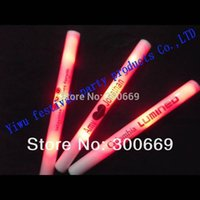 baton costumes - led foam stick baton High Quality light stick costume customize logo for party festival single color with red