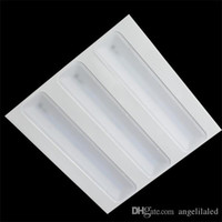 Wholesale New Grille Lamps Germany Stand x620mm LED grille light W W led panel light Supper Brightness Office Lighting
