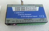 auto usb switch - S150 GSM SMS Remote Controller Alarm Wireless Remote Switch Home Automation Alarm I O USB Ports