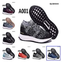 Wholesale Ultra Boost Uncaged Running Shoes Knitting Surface Flat Shoes Low Helped Breathable Running Shoes Socks