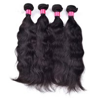 acid wash high - Human Hair Extension Natural Wave Brazilian Hair Weaving Unprocessed Virgin Hair g inch A Grade Non Acid Wash Can Dyed High Quality