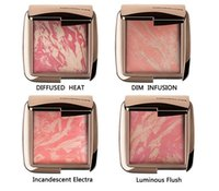 Wholesale 2016 NEW Brand HOURGLASS Makeup Face Blush Ambient Lighting Powder Natural Blusher Palette Long lasting Cosmetic Blushes