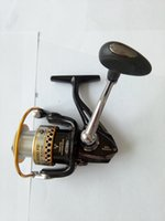Wholesale High Quality Graphite Spinning Fishing Reels series BB Alu spool gear ratio