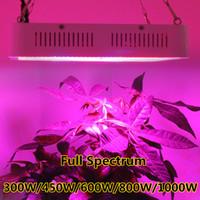 Wholesale KING W W DIAMONDII W W W Double Chip Full Spectrum LED Grow Light Panel Kit For Greenhouse Plant Veg Grow Bloom