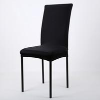 Schön Esszimmer Klappstuhl Preise Solid Color Billig Stretch Spandex Esszimmer  Stuhl Abdeckung Maschine Waschbar Restaurant Hochzeiten