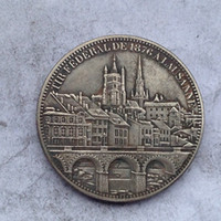 metal ornaments - Switzerland Coin Crafts pieces bale Promotion Cheap Factory Price nice home Accessories Silver Coins
