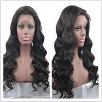 african style lace wig - new style European Human Hair in STOCK deep wave for African women Glueless Full Lace Wig lace wigs