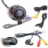Wholesale full new SaveTop New Universal WideAngle Car Rear View Camera Butterfly Latest Style Car PC Cheap Car PC