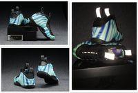 foamposite - 2016 New Men and Women Basketball Shoes Hardaway blue High Quality Sport Shoes Foamposite Pro Posite Sneakers