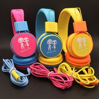 baby blue headphones - Baby Foldable headband headphone Stereo Headphone Headset with Mic with factory priceWith Mic Deep Bass DJ Hi Fi headphones