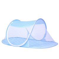 baby mosquito net tent - 2016 Hot Selling Mosquito Netting Tents Blue Green Pink Comfort Mosquito Net Portbale Baby Crib Mosquito Nets Mesh Cheap Price