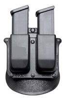 Wholesale New holster P Paddle Style Double Magazine Pouch For Glock mm Cal Mags
