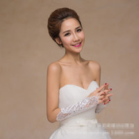 bead embroidery jewelry - Hot white Bridal Gloves Bud silk embroidery Wedding jewelry Pure white fingerless gloves