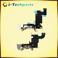 Wholesale New Original Charging Port and Headphone Jack Flex Cable for iPhone S and S Plus Light Gray Dark Gray White