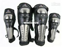 Wholesale Motorcycle Stainless Steel Racing Rider Elbow Knee Pads Armor Protective Guard