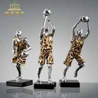 bamboo sculpture craft - Fashion soft home accessories basketball model sculpture crafts decoration
