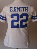 Wholesale 2016 Emmitt Smith Jersey Football Women Jersey Embroidery Logos Sports Jersey Good Quality Accept Mix Order