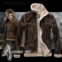 afterlife resident - Fall Resident Evil Afterlife Leon male leather clothing clothes Coats amp Jackets