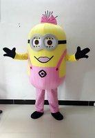 In vendita! Trasporto libero, 13styles, Cattivissimo me <b>minion costume</b> della mascotte per gli adulti me spregevole costume della mascotte