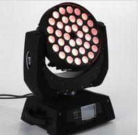 Wholesale 36x10W LED Moving Head Zoom Light W RGBW cree led Moving Head light Stage Lighting Effect