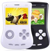 Atacado-JXD 100 2.8 em Crianças frete grátis jogador -fashion 4GB branco Blac cores portátil