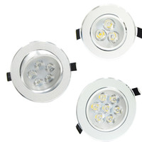 Wholesale Recessed Installation W W W LED Downlight Recess Living Room Kitchen Light Spot Lamps AC110V V LED Lighting