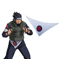 asuma costume - Naruto Sarutobi Asuma Land of Fire s Twelve Guardian Shinobi quot Hono quot Scarf of Waist Anime Cosplay Accessory