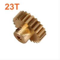 baja buggies - 11153 Motor Gear T Metal Brass Pinion HSP Parts For Electric Model Car Off Road Buggy Pro XSTR Hobby Baja Himoto