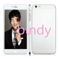 Wholesale Goophone i6 i6s inch Dual Core MTK6572 Android Show GB GB G Phone call Show G Unlocked i6s Smart Phone Newest