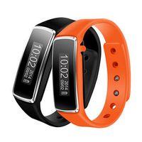 оптовых v5 wristbands-Смарт Bluetooth браслет Смарт диапазона V5 пассометр сна Фитнес-трекер для Android IOS Smartband PK Ми Band 2 ID107 Wristband