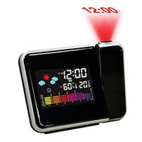 alarm clock projection temperature - Brand Hippih New Arrival LED Projection Alarm Clock Reloj Despertador Temperature Digital Reveil Electronic Desk Clock