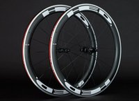 Wholesale Alloy braking surface mm clincher carbon wheels aluminium carbon wheelset for road bike with