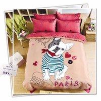 Wholesale Bedding Set Duvet Cover Fitted Sheet Pillow Case Cotton Duvet Cover Queen