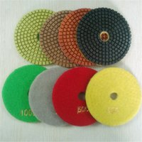 Wholesale Diamond resin wet polishing pads for concrete stone