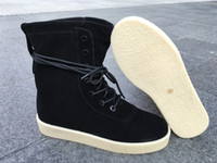 Wholesale new release kanye west season Boost Classic black women Fashion Sneaker Shoes
