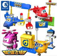 Big Kids airplanes kids - New Super Wings Mini Planes Deformation Airplane Robot Action Figures Transformation Toys Boys Birthday Gift b259